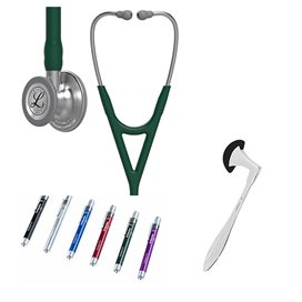 Buy, order, Littmann Cardiology IV Studentbox Huntergreen,
