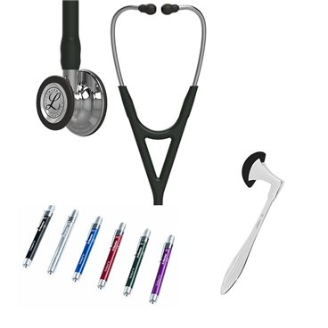 Littmann Cardiology IV Studentbox 6177 Mirror Finish Black