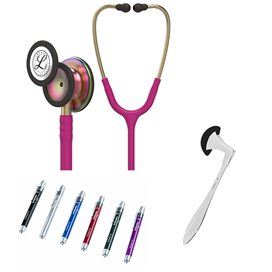 Littmann Classic III Studentbox Rainbow Special Edition Raspberry