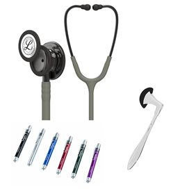 Littmann Classic III Studentbox Smoke Special Edition Verde Oliva Scuro