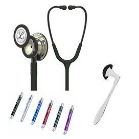 Littmann Classic III Studentbox Mirror-Finish Champagne Nero