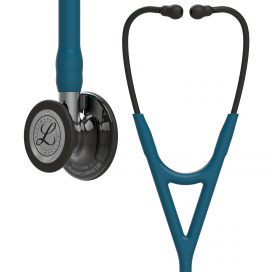 Littmann Cardiology IV Stethoscope 6234 Smoke Caribean Blue - Mirror Stem