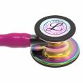 Littmann Cardiology IV Stethoscope 6241 Rainbow Raspberry - Smoke Stem