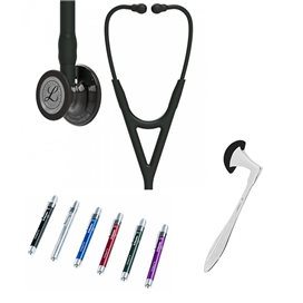 Littmann Cardiology IV Studentbox 6232 Smoke Noir - Noir Voix