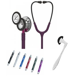Littmann Classic III Studentbox 5960 Mirror Plum, Pink Stem