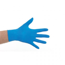 CMT gloves latex powder-free blue 100 pieces