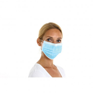Facemask 3-layer type IIR 50 pieces-www.stethoscoop-centrum.nl