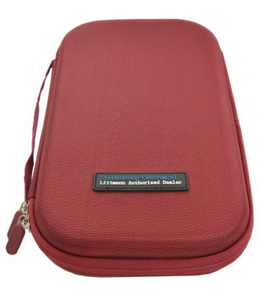 Carrying Pouch for Littmann Stethoscope Burgundy