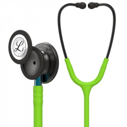 Littmann Classic III Stethoscoop 5875 Limoengroen Black Edition - Blauw