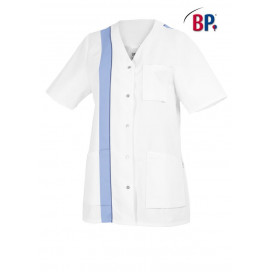 BP Womens jacket short white / lightblue