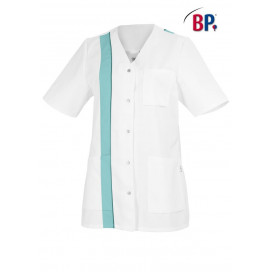 BP Womens jacket short white / mint