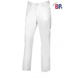 BP Herenjeans wit incl. beenvakken