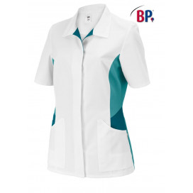 BP Womens jacket short white/petrol