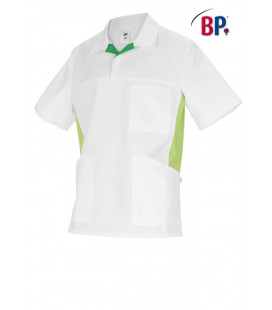 BP Tuniek unisex wit/petrol