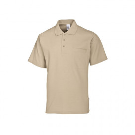 BP unisex polo ecru