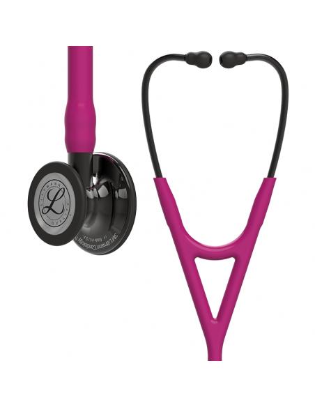Littmann Cardiology IV Stetoscopio Edizione Speciale Finitura Fumo Tubo Lampone
