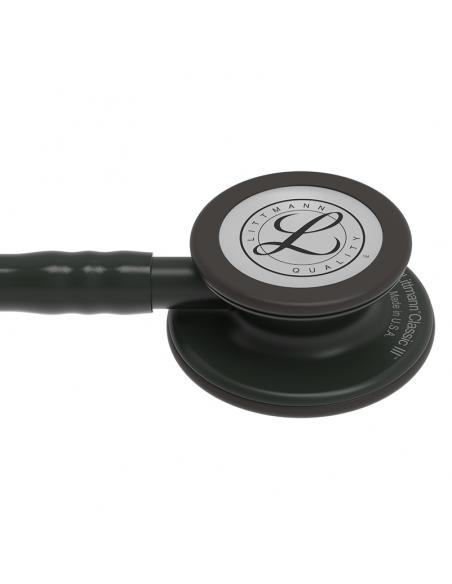Stetoskop Littmann Classic III - czarny przewód, czarna lira i głowica, 5803
